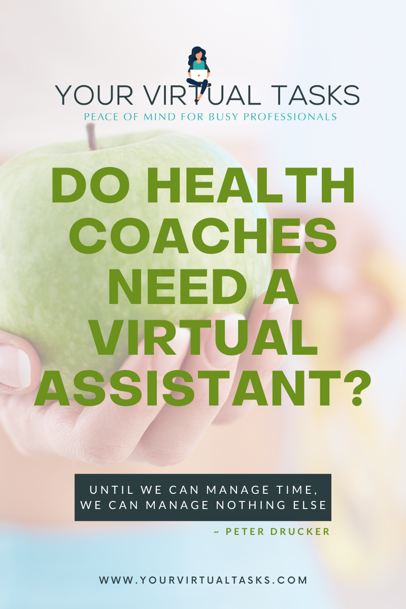 Do Health Coaches Need a Virtual Assistant?